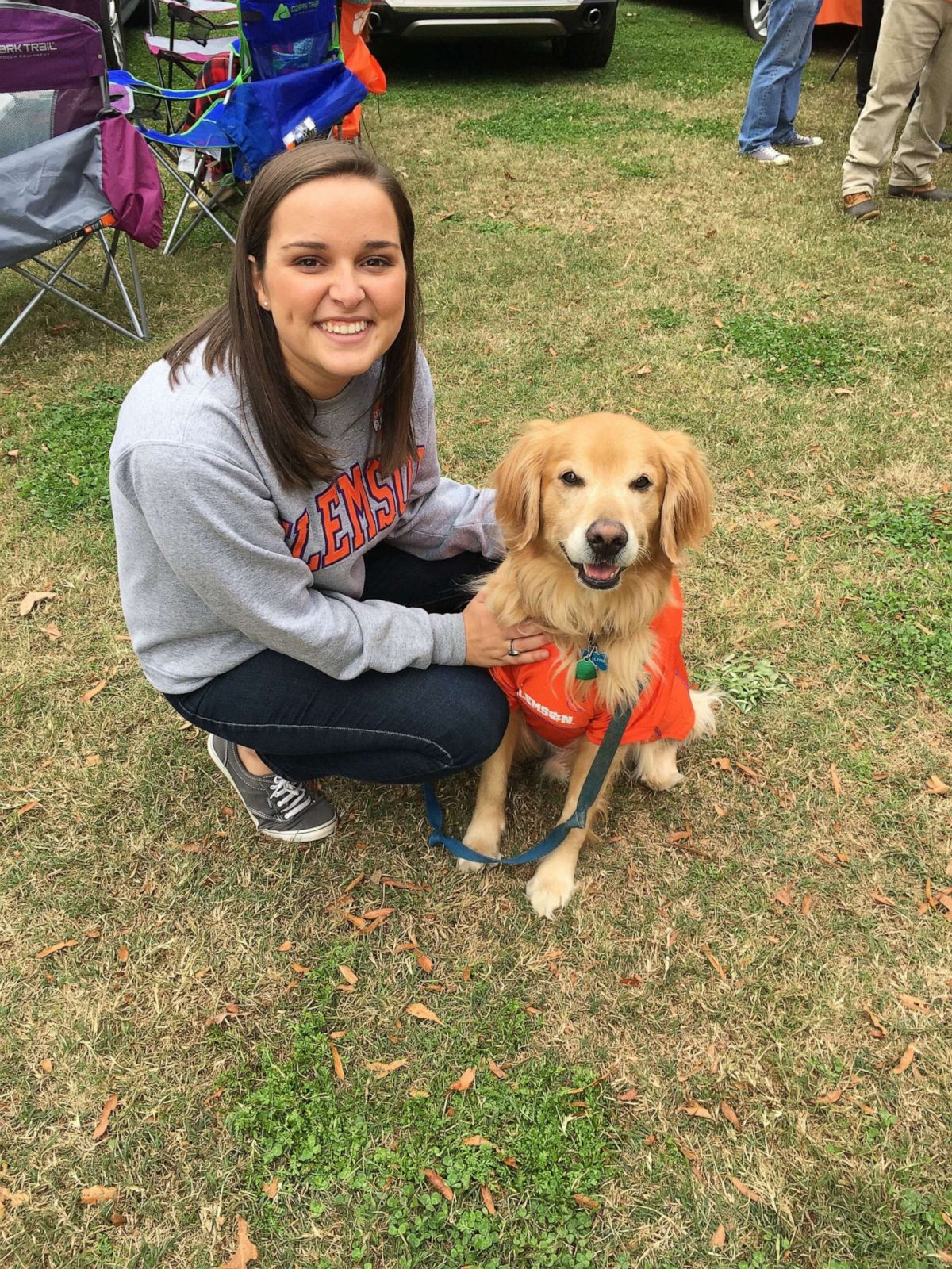 PHOTO: Sallie Hammett of Greenville, South Carolina, shared touching words about her Golden Retriever, Charlie, on Twitter where thousands liked and commented. Charlie did Sept. 13, 2020 at the age of 7 from incurable lymphoma.