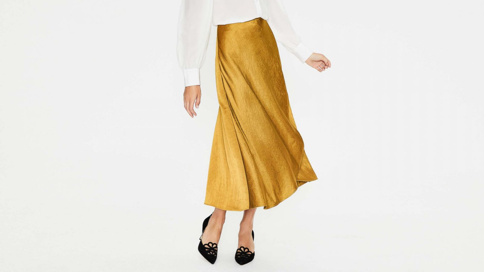 41d02ef6d Midi skirts are easy to incorporate into your daily wardrobe. Pictured: The  Epsom Midi
