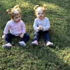 Erin and Abby Delaney are thriving two-year-olds, living with their parents Heather and Riley in Mooresville, N.C.