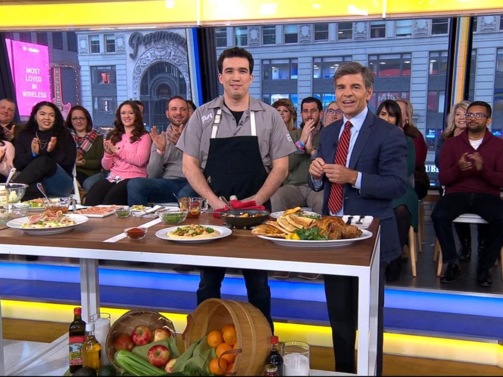 PHOTO: Pacific Standard Time executive chef Erling Wu-Bower shares recipes on Good Morning America, Jan. 4, 2019.