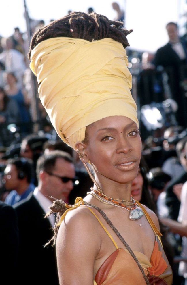 PHOTO: Erykah Badu attends the 41st annual Grammy awards, Feb. 24, 1999, in Los Angeles.