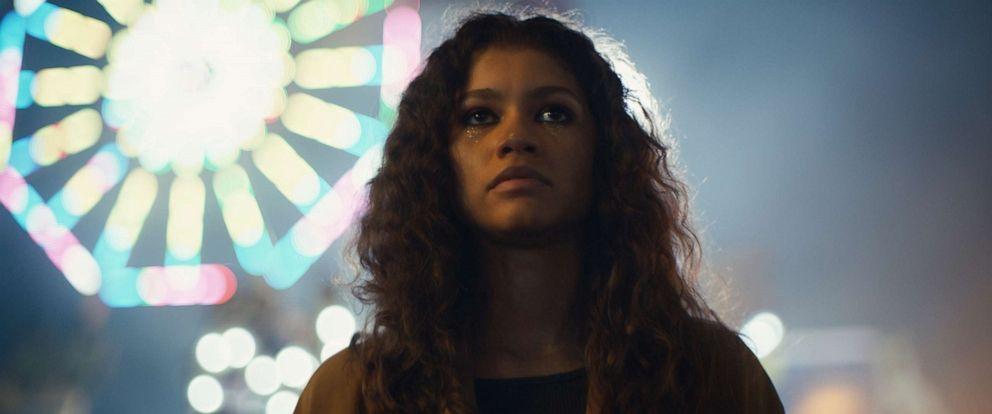 """PHOTO: Zendaya in a scene from """"Euphoria."""""""