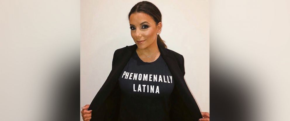 PHOTO: Eva Longoria Baston shared a photo of herself on Twitter to mark Latina Equal Pay Day.