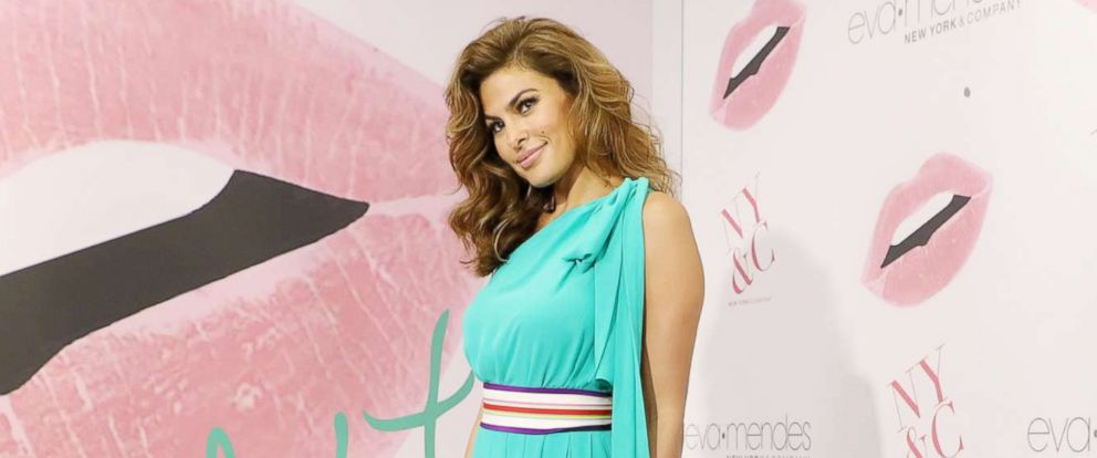 932d355248 PHOTO  Eva Mendes is seen celebrating the New York   Company store opening  in Miami