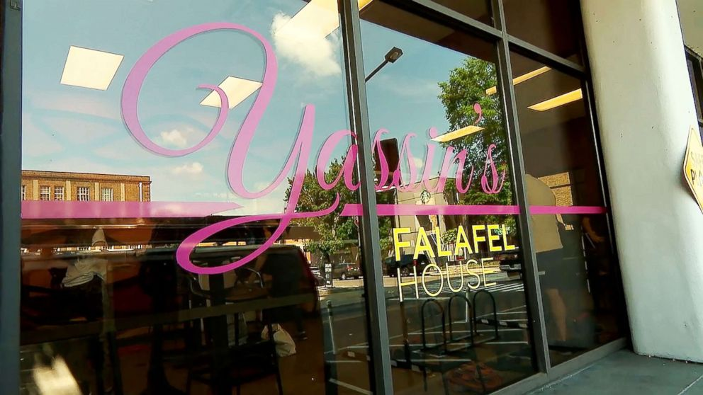 PHOTO: Yassins Falafel House in Knoxville, Tenn., was picked as a finalist for Readers Digest Nicest Places in America.