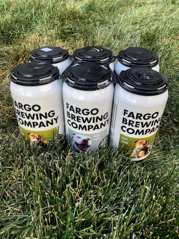 PHOTO: Fargo Brewing Company partners with 4 Luv of Dog Rescue to help overlooked dogs find forever homes.