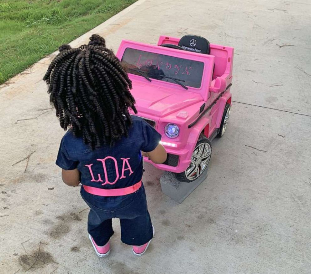 PHOTO: Devante Bennett-Dotson of Anderson, S.C., and his daughter Londyn Bennett-Dotson, 2, have birthdays one day apart.