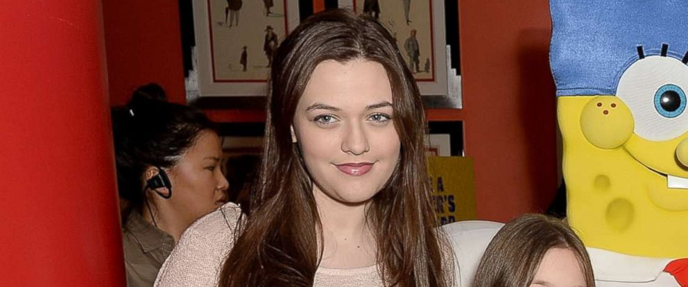 """PHOTO: Felicite Tomlinson attends a screening for """"The Spongebob Movie: Sponge Out of Water,"""" March 15, 2015 in London."""