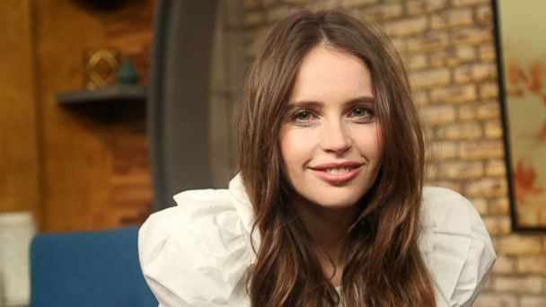 98aa21aa9 'On the Basis of Sex' star Felicity Jones on Ruth Bader Ginsburg's  inspiration