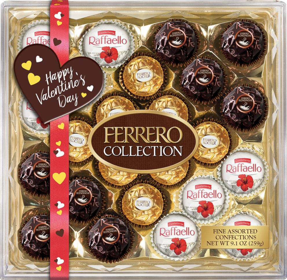 PHOTO: Ferrero Rocher released Valentines Day edition treats in a variety of special flavors and sizes.