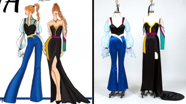 Disney on Broadway characters get modern makeover from fashion design students