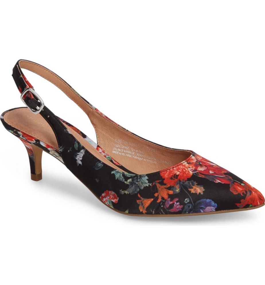 2ed6a64d3c0 PHOTO  We love these cute floral print kitten heels. Nordstrom