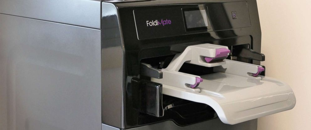 PHOTO: FoldiMate is the name of the company that created the robot that claims to fold your laundry for you in under five minutes.
