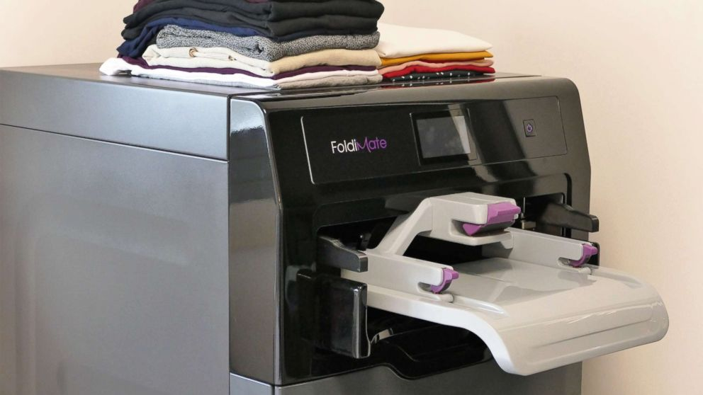 Machine That Will Fold Your Laundry Debuts At Ces Abc News