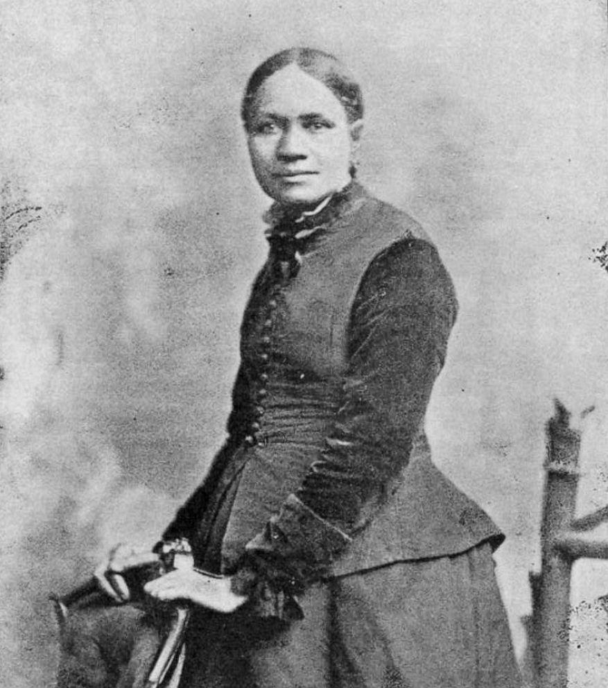 PHOTO: Frances Ellen Watkins Harper is pictured in a portrait, circa 1898.