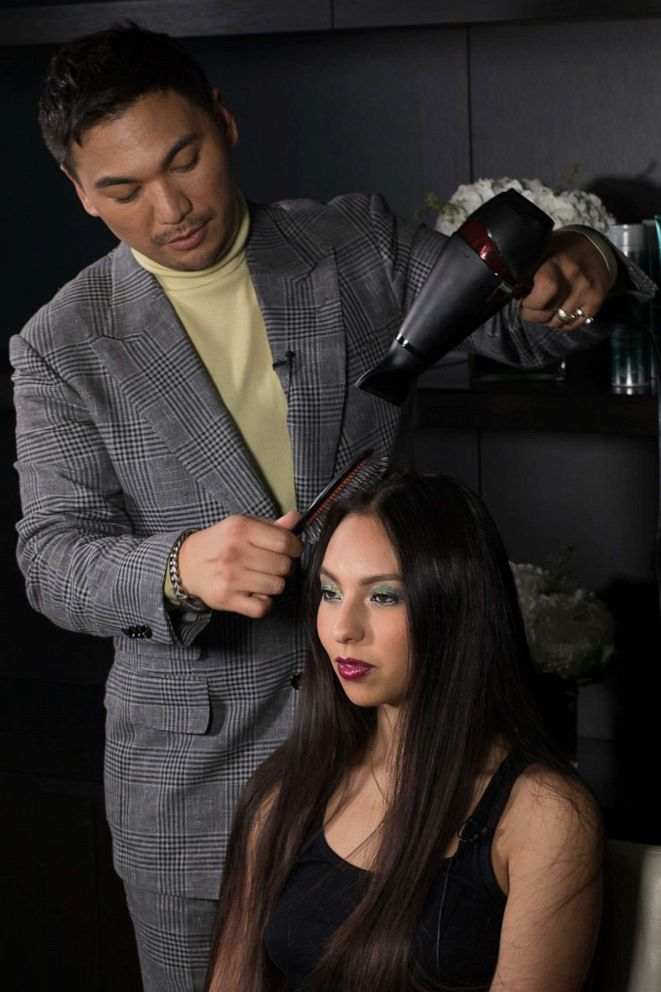 PHOTO: Lady Gagas stylist & Joico ambassador, Frederic Aspiras shows us how to achieve flawless hair for New York Fashion Week.