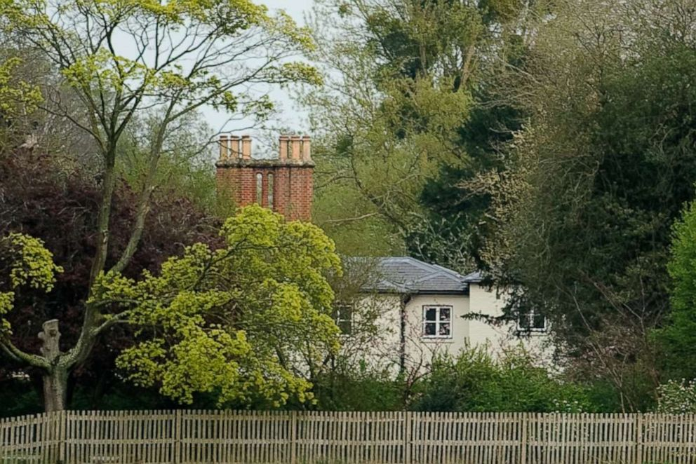 PHOTO: A general view of Frogmore Cottage at Frogmore Cottage on April 10, 2019, in Windsor, England.