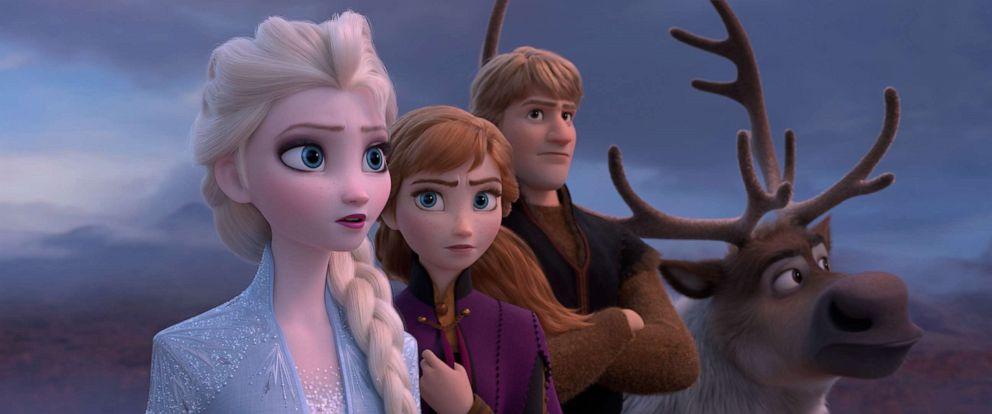 "PHOTO: Walt Disney Animation Studios, ""Frozen 2,"" opens in U.S. theaters on Nov. 22, 2019."