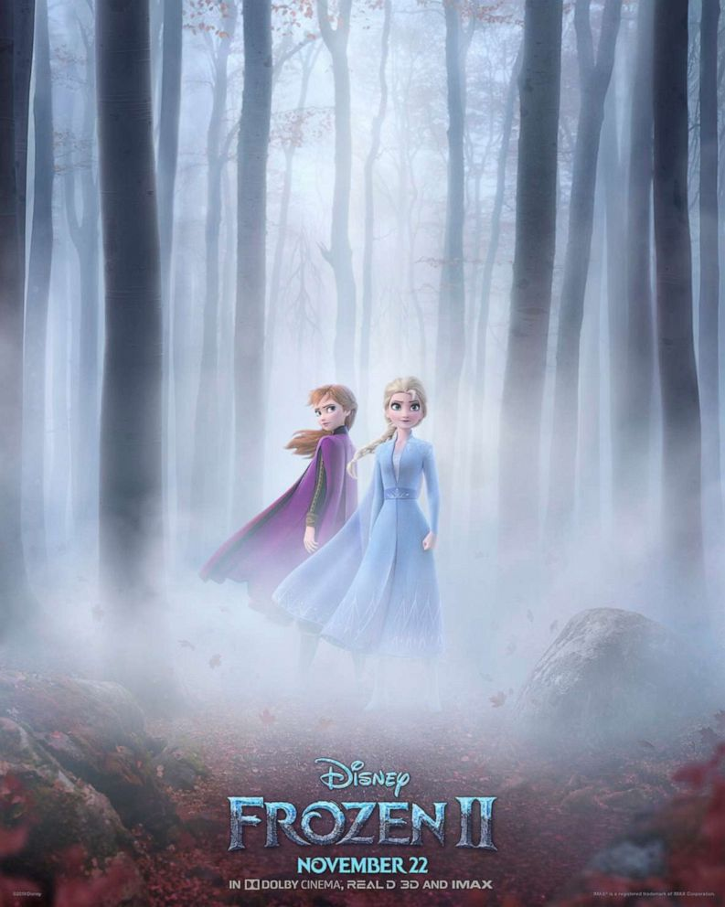 PHOTO: The poster for Frozen 2.