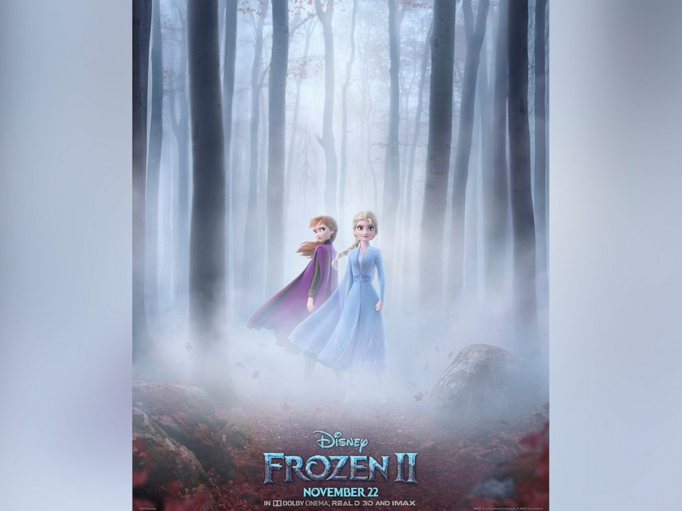 Elsa seeks out truth behind powers in first 'Frozen 2' trailer
