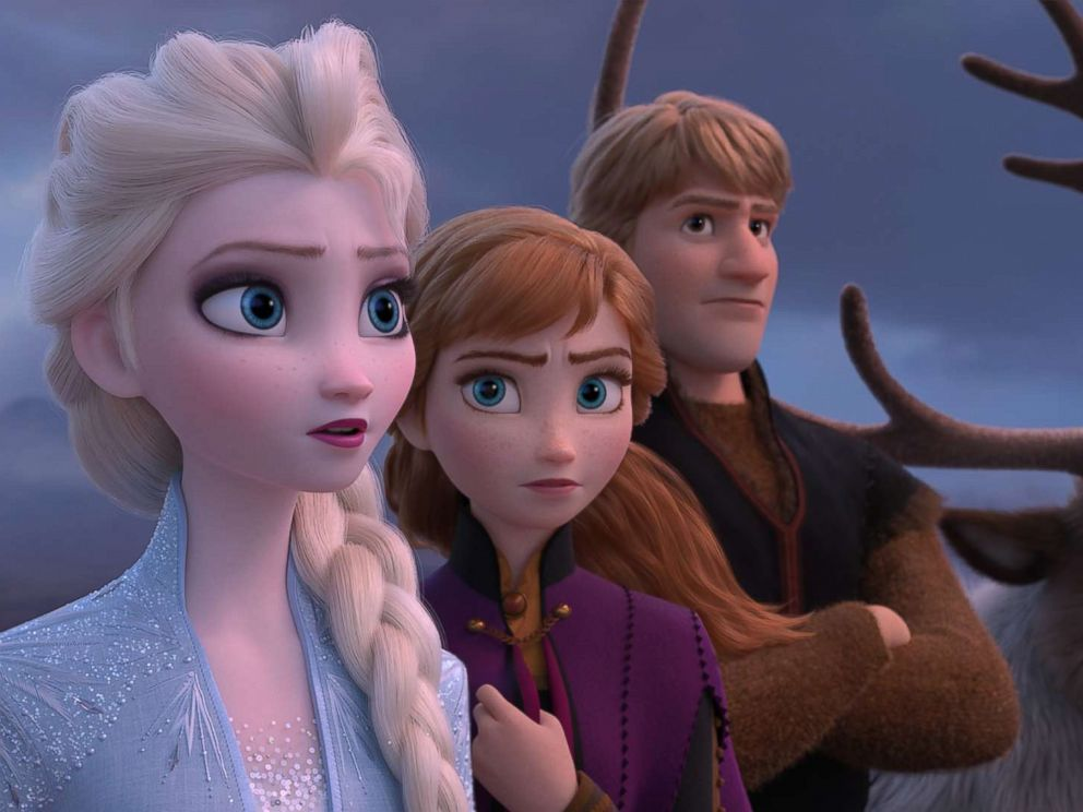PHOTO: A scene from Frozen 2.