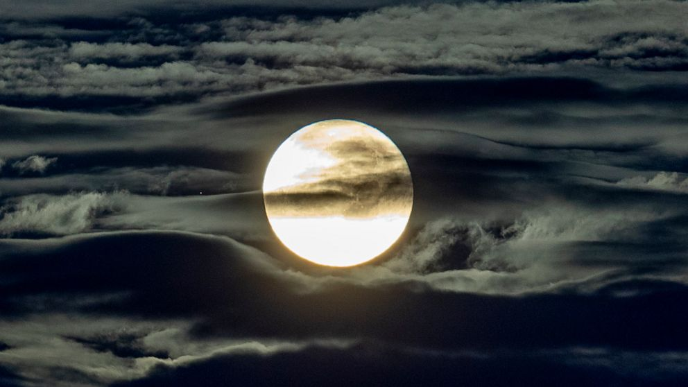 On Halloween, the sky will be lit up by a rare blue moon on the scariest night of the year.