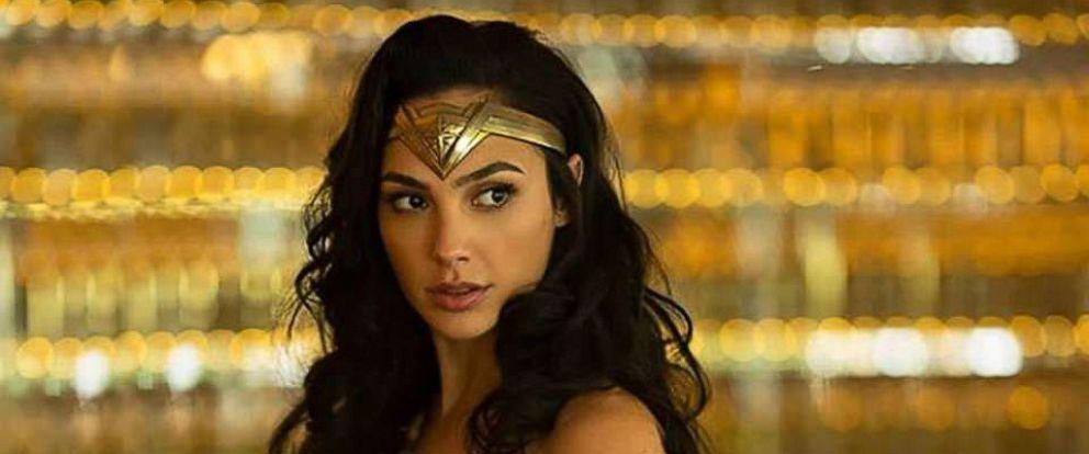 "PHOTO: Gal Gadot returns as Wonder Woman in the 2019 film, ""Wonder Woman 1984."""