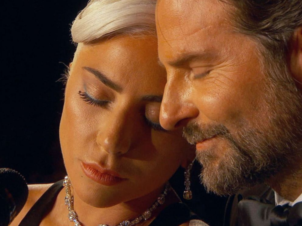 PHOTO: Lady Gaga and Bradley Cooper perform the song Shallow from the film, A Star is Born, during the 91st annual Academy Awards in Los Angeles, Feb. 24, 2019.