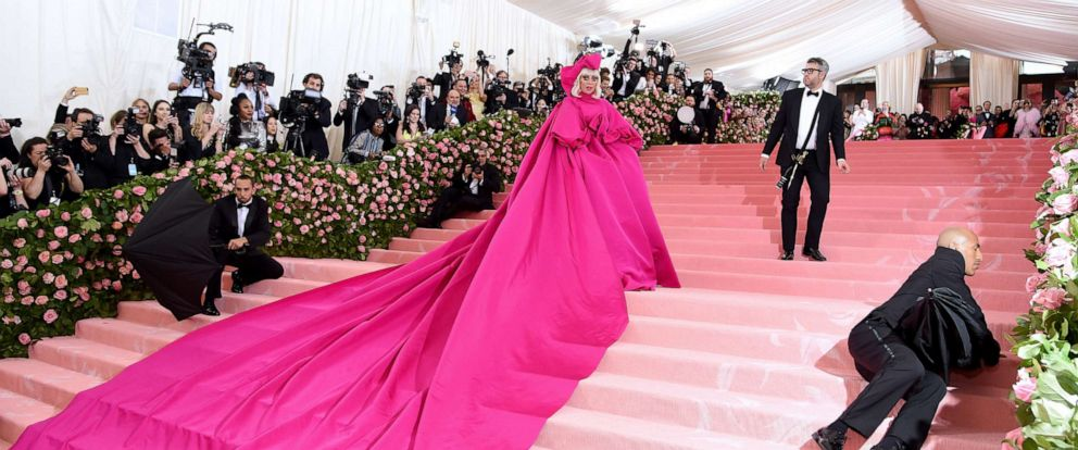 """PHOTO: Lady Gaga attends the 2019 Met Gala celebrating """"Camp: Notes on Fashion"""" at the Metropolitan Museum of Art on May 06, 2019, in New York."""