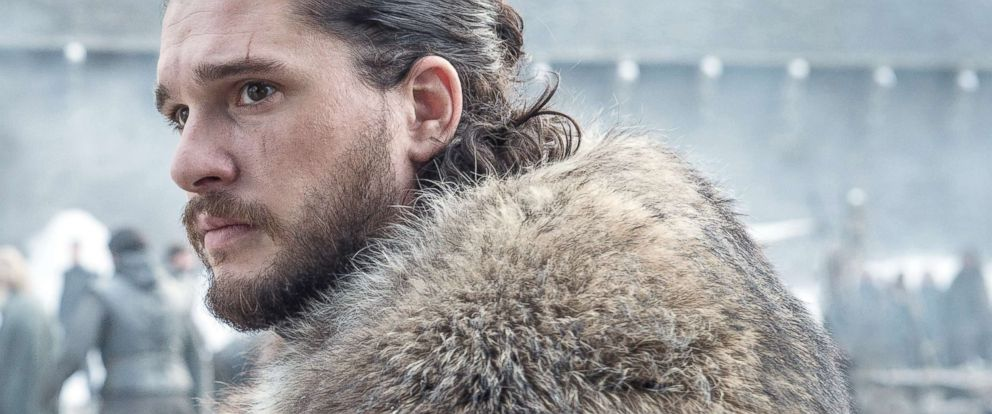 """PHOTO: Kit Harington appears on """"Game of Thrones."""""""
