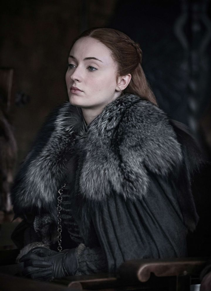 """Sophie Turner in a scene from """"Game of Thrones."""""""