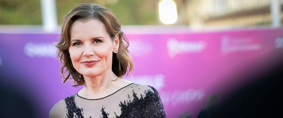 PHOTO: Geena Davis poses on the red carpet during the 45th Deauville US Film Festival, Sept. 10, 2019, in Deauville, France.