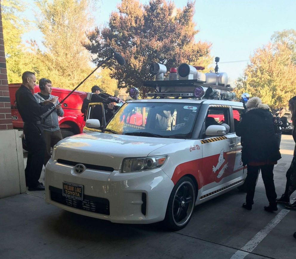 """A """"Ghostbusters"""" car was created to help make London's wish come true."""