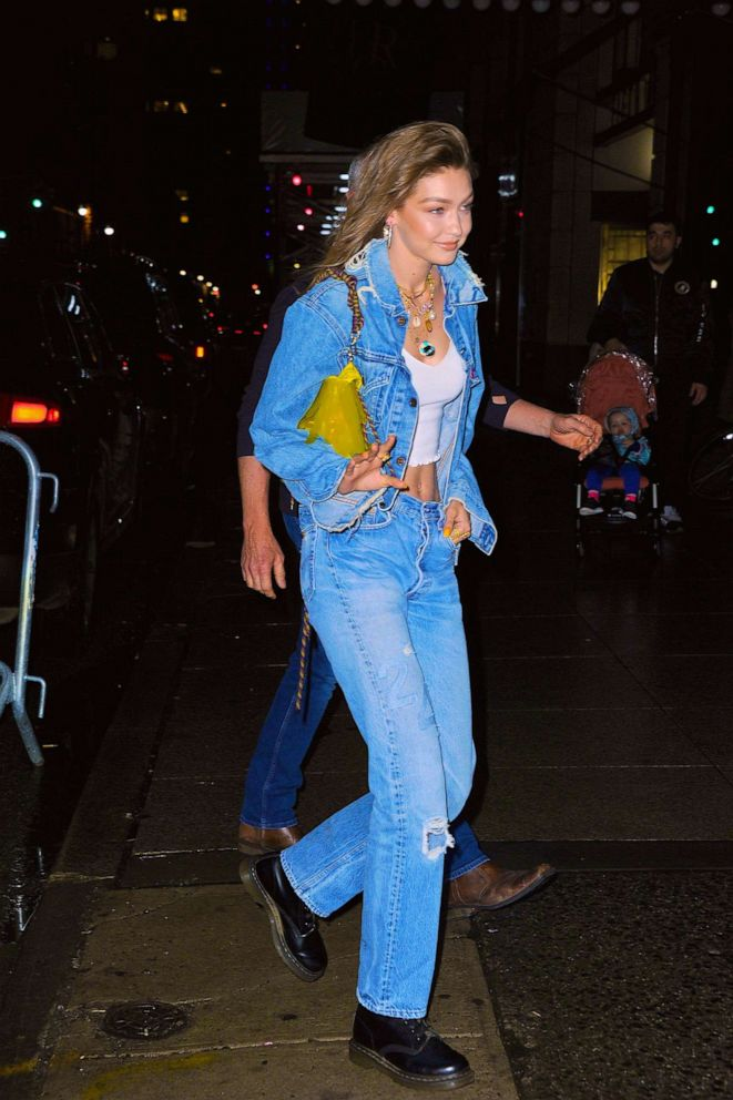 PHOTO: Gigi Hadid is pictured in Manhattan on April 22, 2019, in New York.
