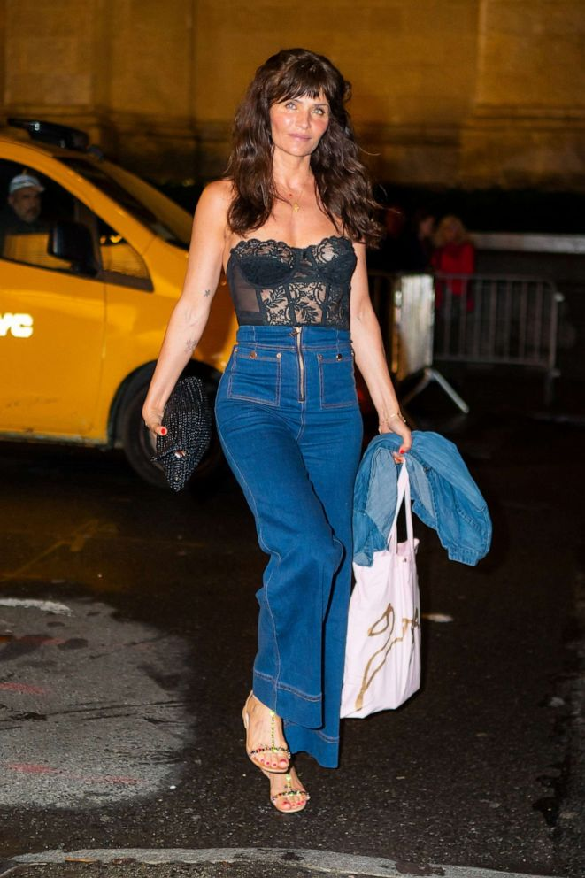 PHOTO: Helena Christensen attends Gigi Hadids 24th Birthday at LAvenue in Midtown on April 22, 2019, in New York.