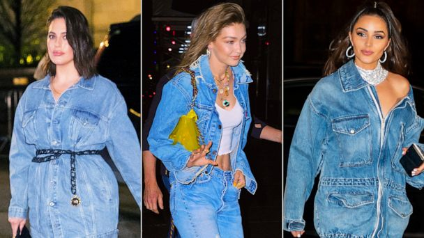 4456dcd487d Gigi Hadid had a denim-themed birthday party and the looks were amazing