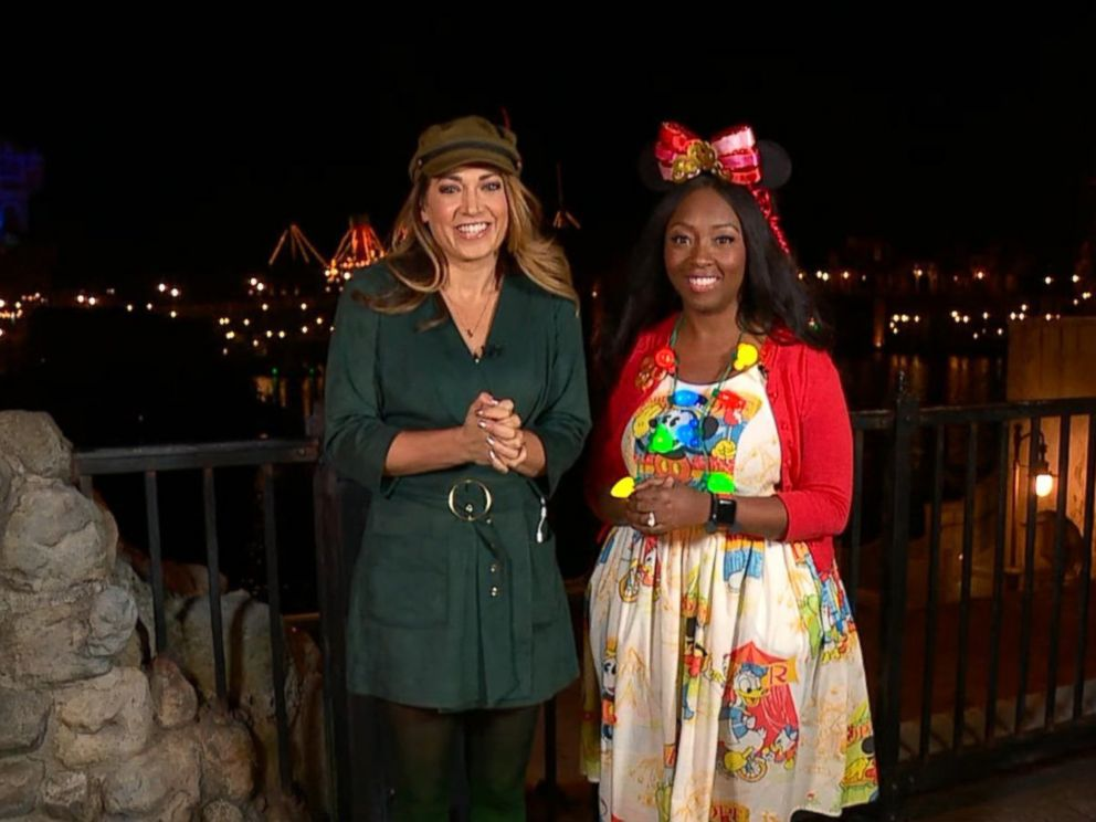 PHOTO: ABC News Ginger Zee and Disney super fan Patrice Jenkins visit Tokyo Disneyland and its neighboring park, Tokyo DisneySea.