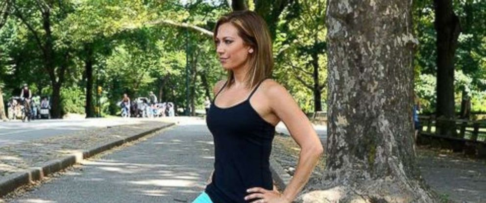 "PHOTO: ""GMA"" meteorologist Ginger Zee is focused on strength in 2019."