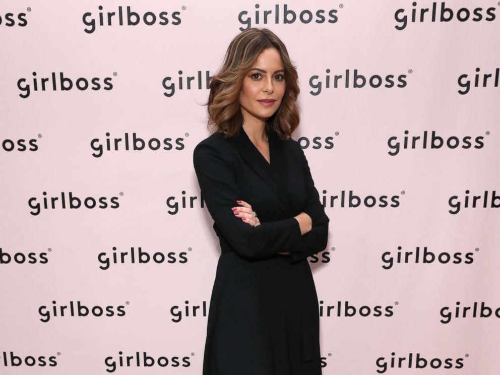 PHOTO: Sophia Amoruso attends Girlboss Rally NYC 2018 at Knockdown Center, Nov. 17, 2018, in Maspeth, N.Y.