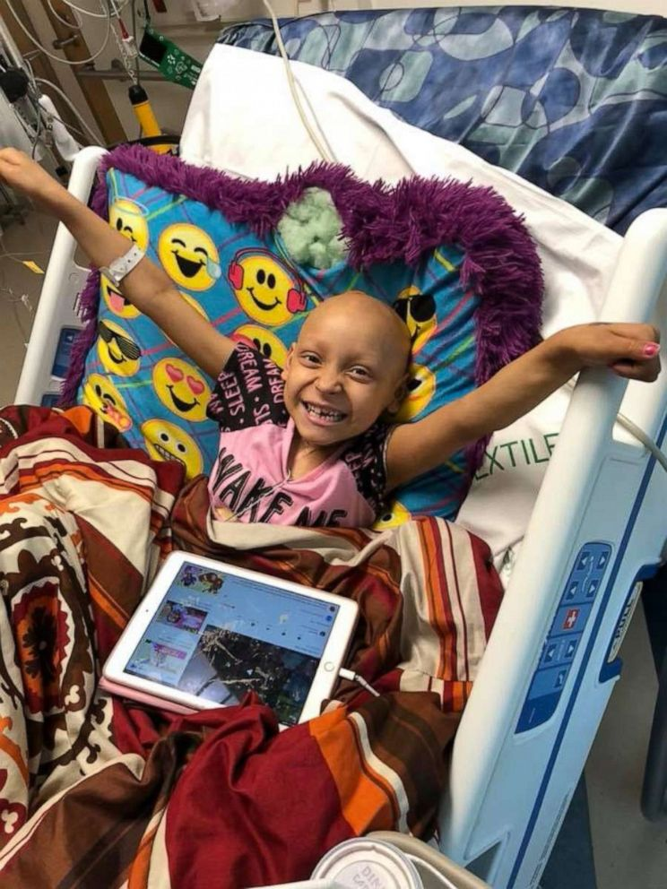 PHOTO: Zoe Figueroa, 8, was diagnosed with stage 4 neuroblastoma in 2018.