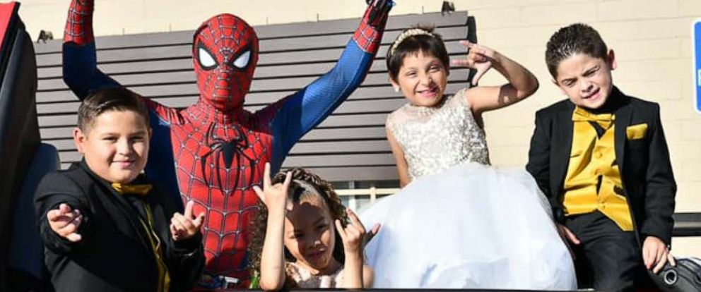PHOTO: Zoe Figueroa, 8, is seen at her party in San Diego, California, celebrating her birthday and being cancer-free with her brothers Zach, 11 and Zayden, 7 and sister Zandrea, 5.
