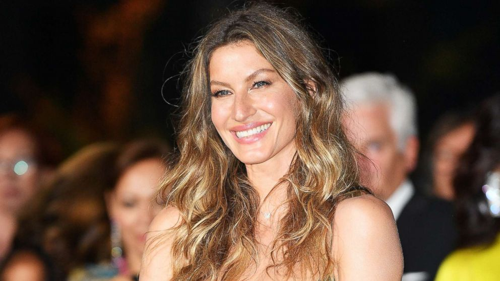 Gisele Bundchen attends the Green Carpet Fashion Awards Italia 2017 during Milan Fashion Week Spring/Summer 2018, Sept. 24, 2017, in Milan, Italy.