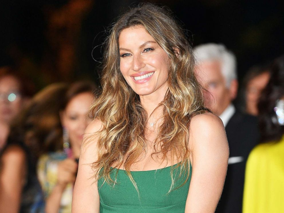 PHOTO: Gisele Bundchen attends the Green Carpet Fashion Awards Italia 2017 during Milan Fashion Week Spring/Summer 2018, Sept. 24, 2017, in Milan, Italy.