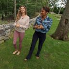"""Good Morning America"" anchor Robin Roberts interviews Gisele Bundchen about her new book, ""Lessons."""