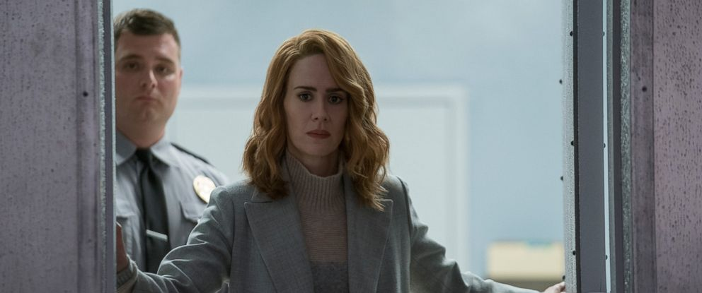 "PHOTO: Sarah Paulson in a scene from ""Glass."""