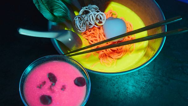 We had to see what makes glow-in-the-dark ramen shine so bright
