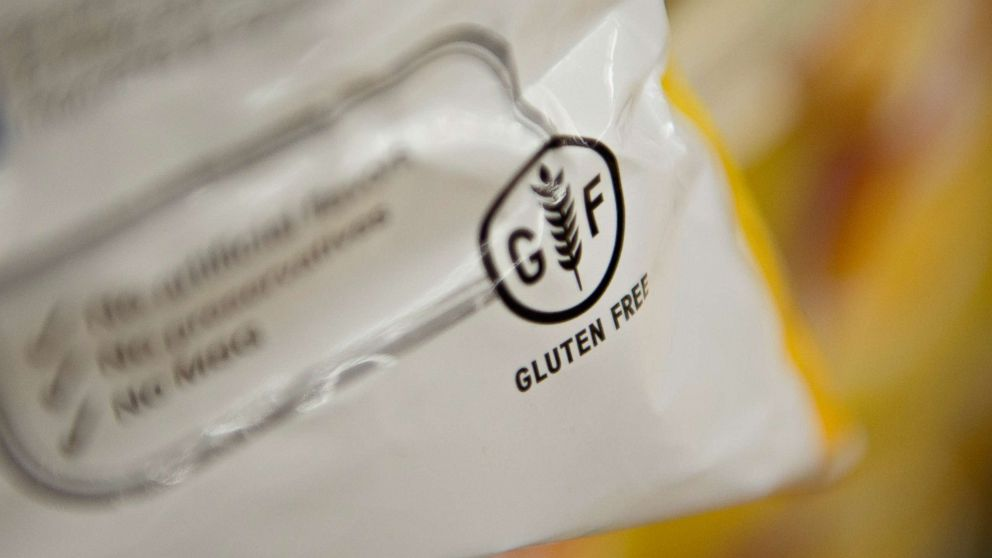 """Gluten Free"" appears on food packaging."