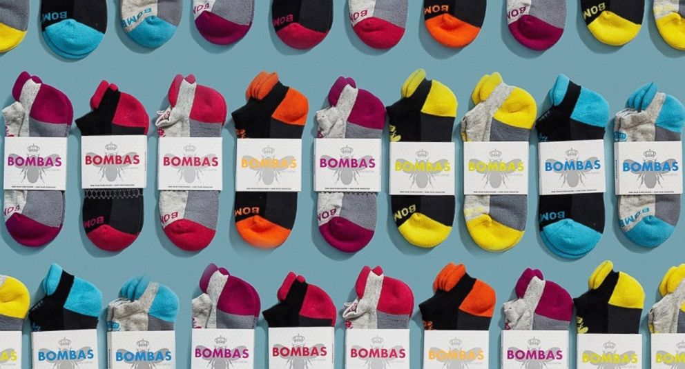 PHOTO: Bombas socks are pictured here.