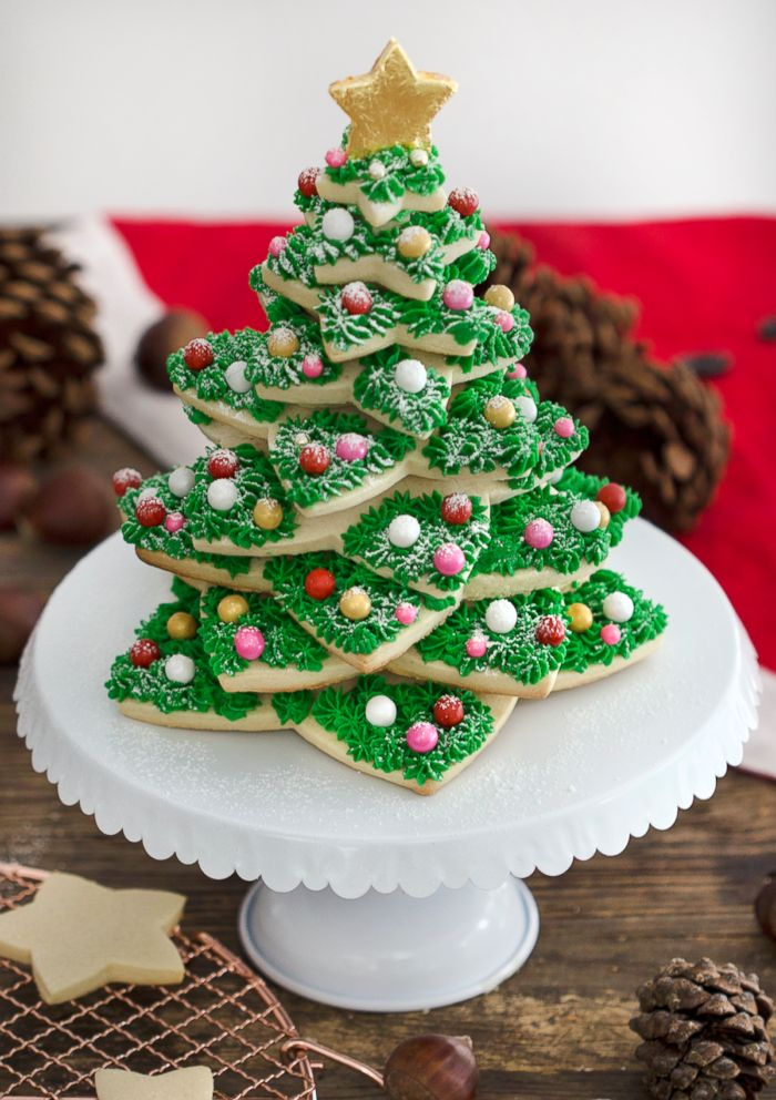 25 Days Of Cookies Preppy Kitchen S Holiday Cookie Tree Abc News