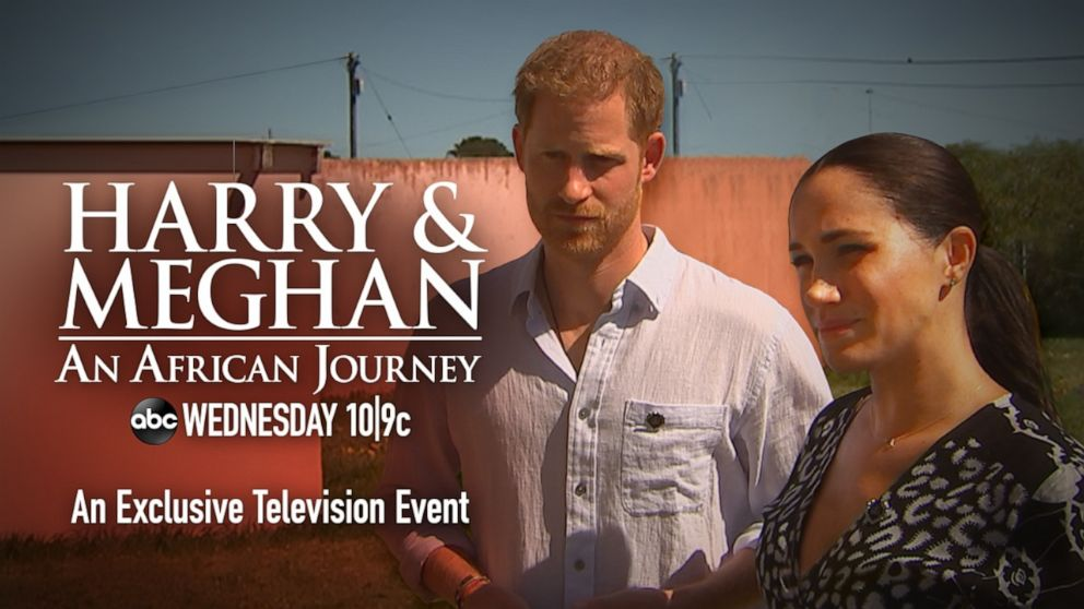 """PHOTO: """"Harry & Meghan: An African Journey, hosted by GMA co-anchor Robin Roberts, airs Wednesday, Oct. 23, at 10 p.m. ET, on the ABC Television Network."""